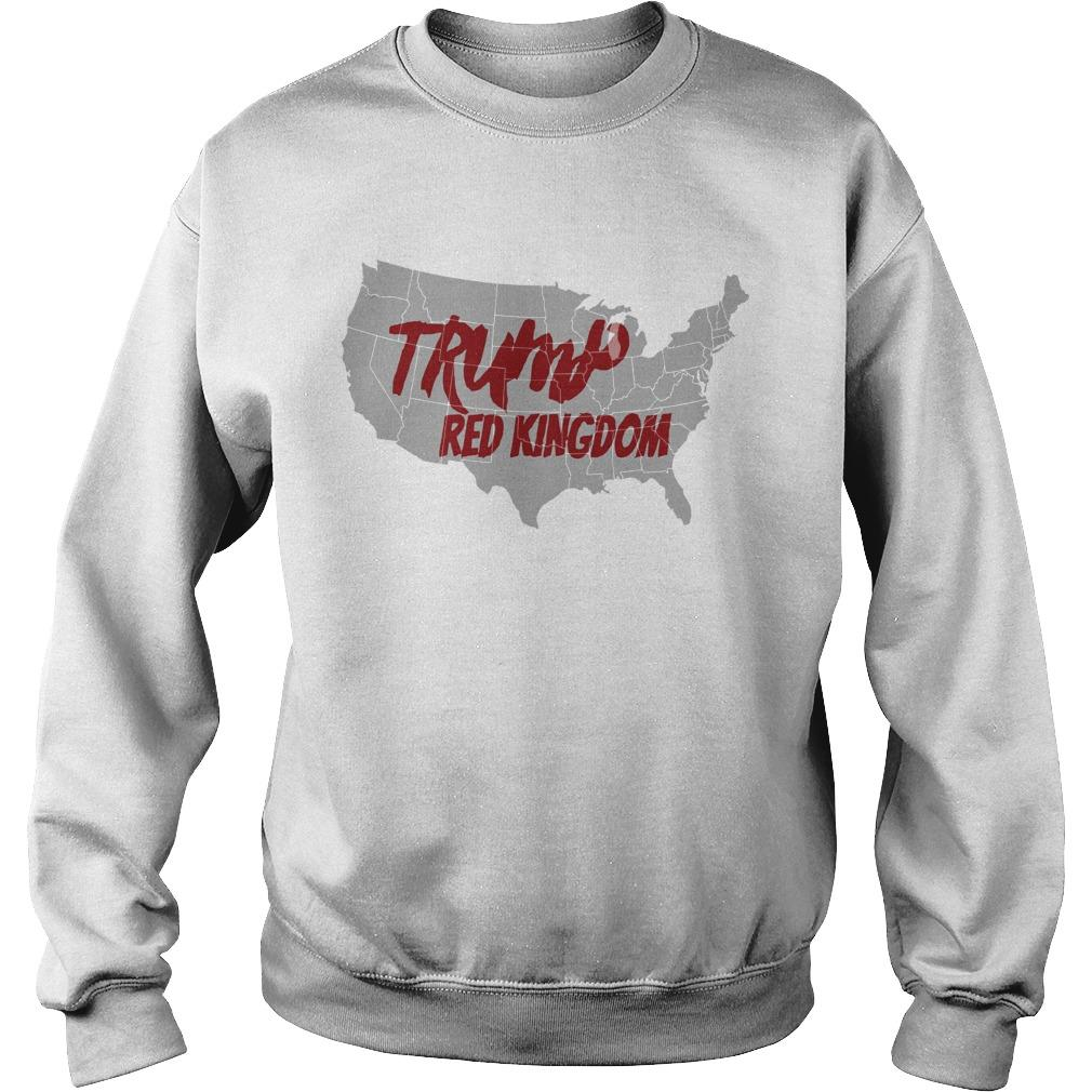 Trump Red Kingdom Sweater