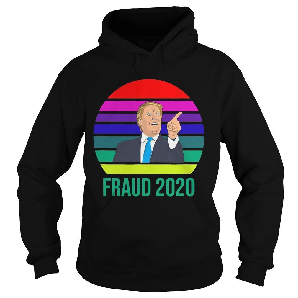 Vintage Donald Trump Fraud 2020 Hoodie