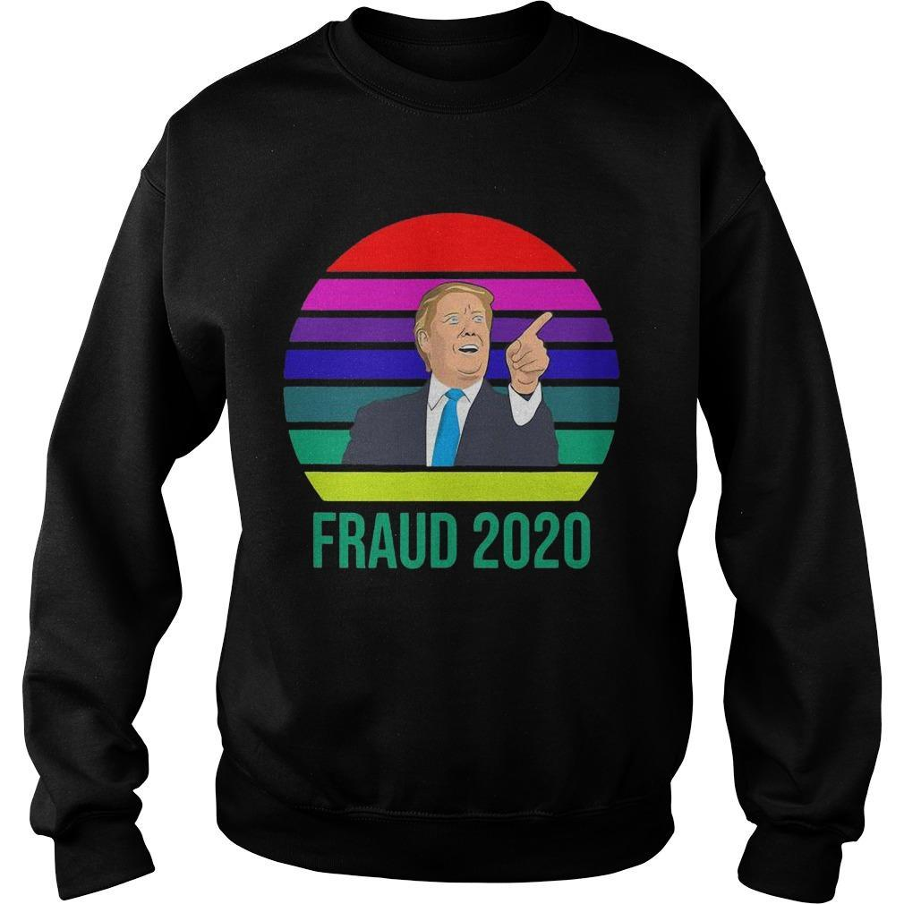Vintage Donald Trump Fraud 2020 Sweater