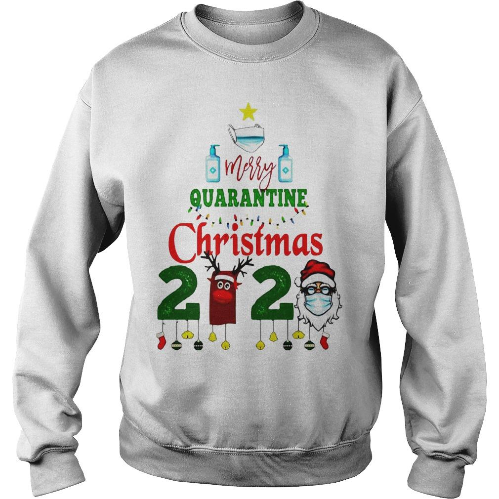 We Survived Merry Quarantine Christmas 2020 Sweater