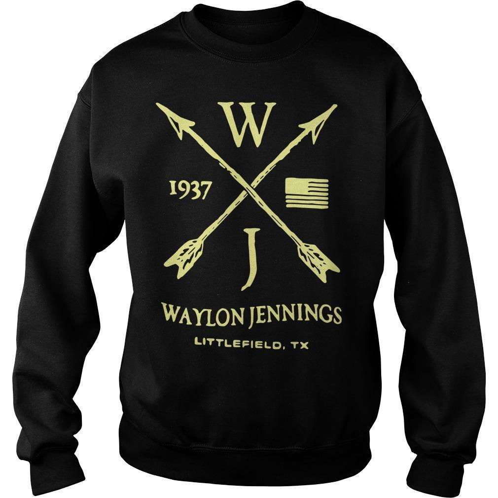Wj 1937 Waylon Jennings Littlefield 1937 Sweater