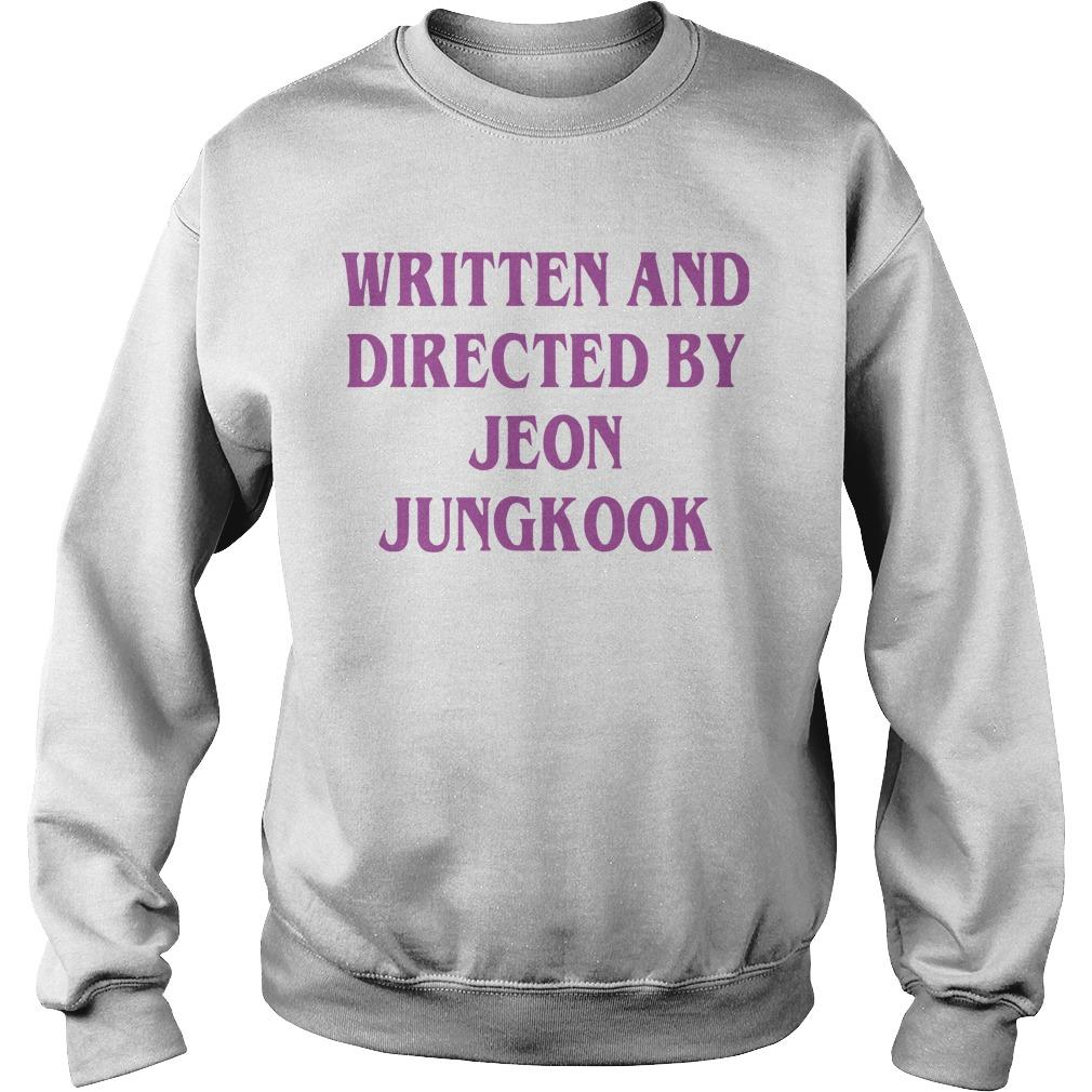 Written And Directed By Jeon Jungkook Sweater
