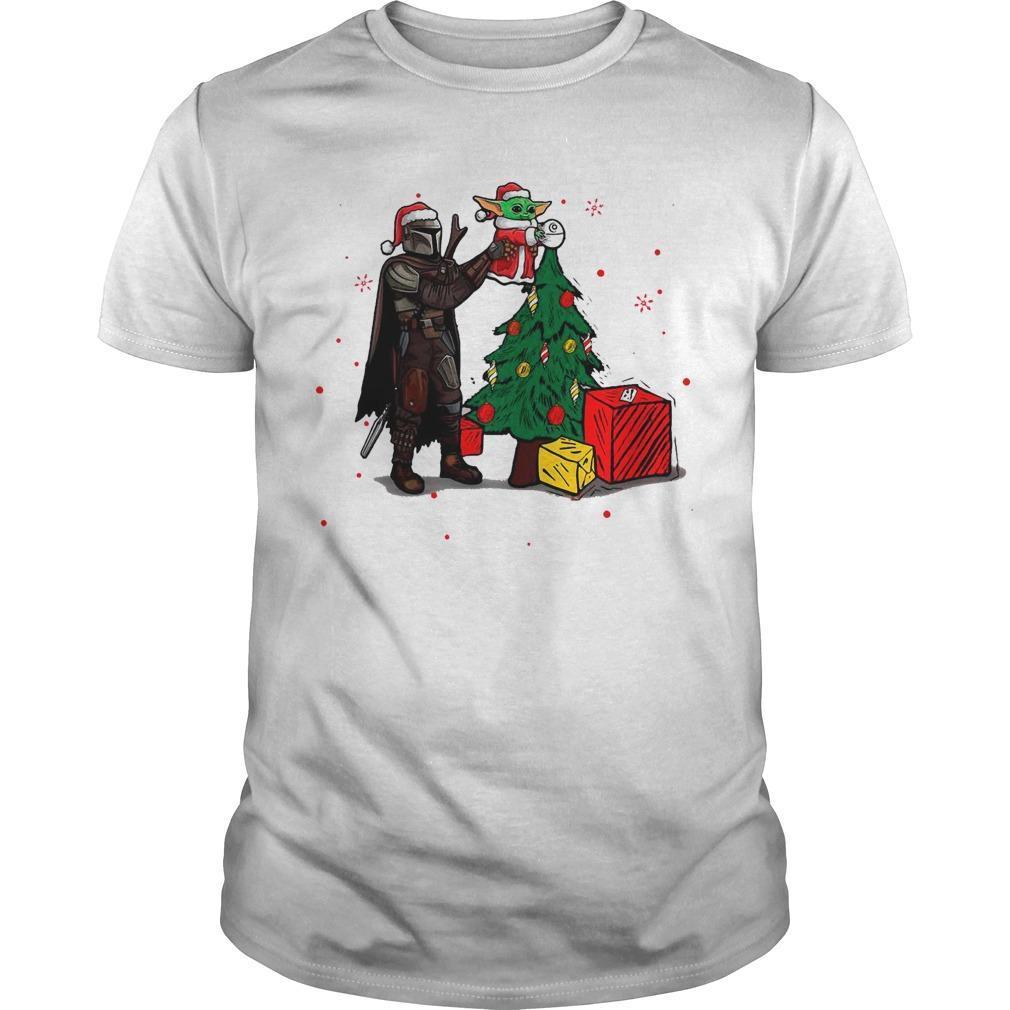 Christmas 2020 Star Wars Baby Yoda The Mandalorian Shirt