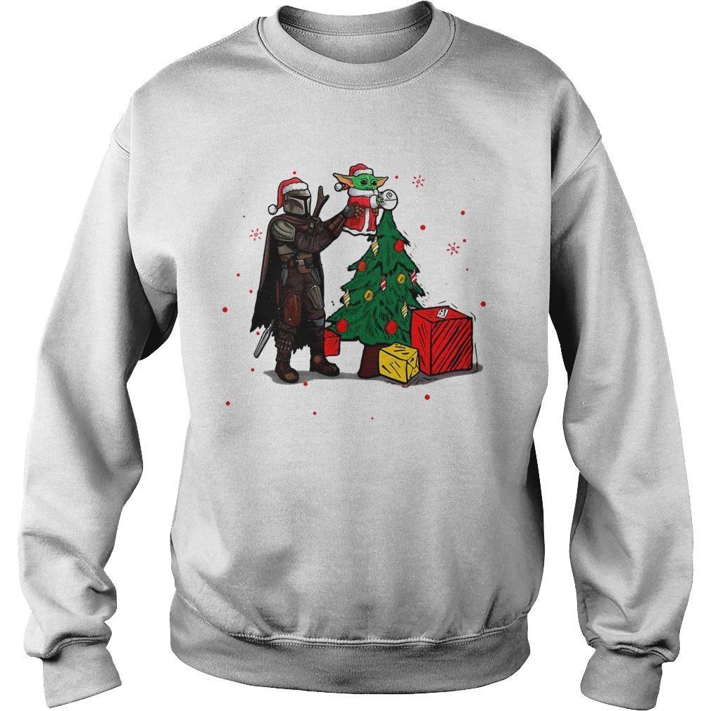 Christmas 2020 Star Wars Baby Yoda The Mandalorian Sweater