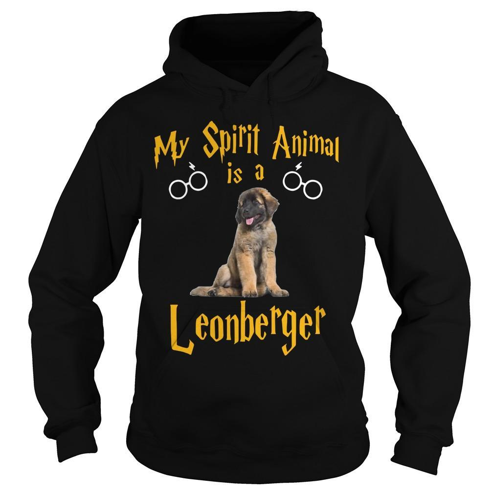 My Spirit Animal Is A Leonberger Hoodie