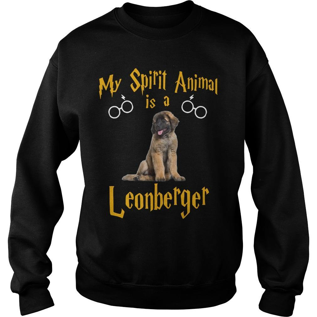 My Spirit Animal Is A Leonberger Sweater