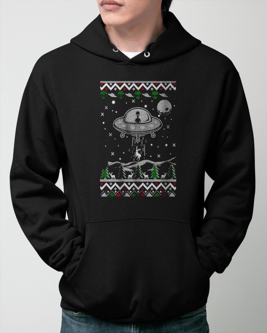 Nasa Ufo Take Christmas Away 2020 Hoodie
