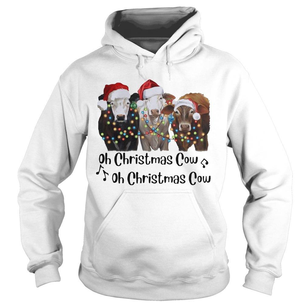 Oh Christmas Cow Oh Christmas Cow Hoodie
