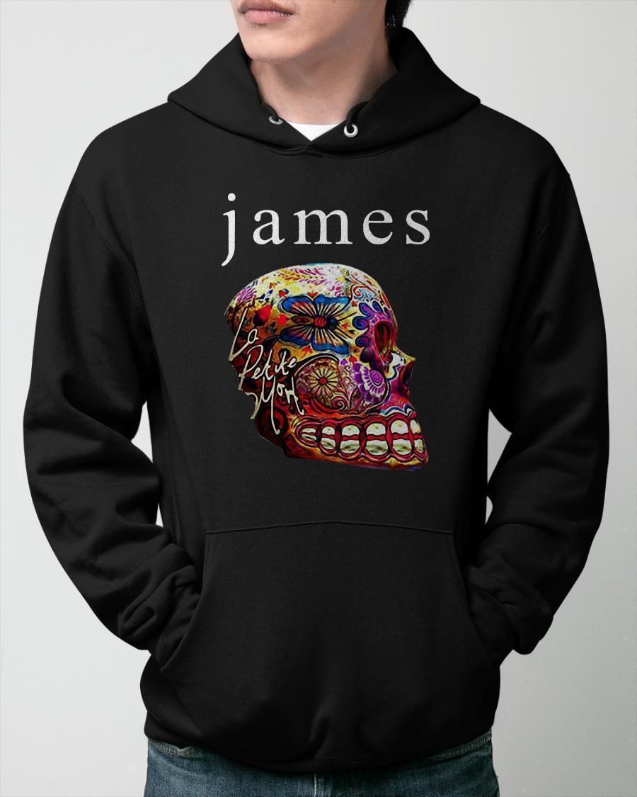 Skull Sugar Flower James Hoodie