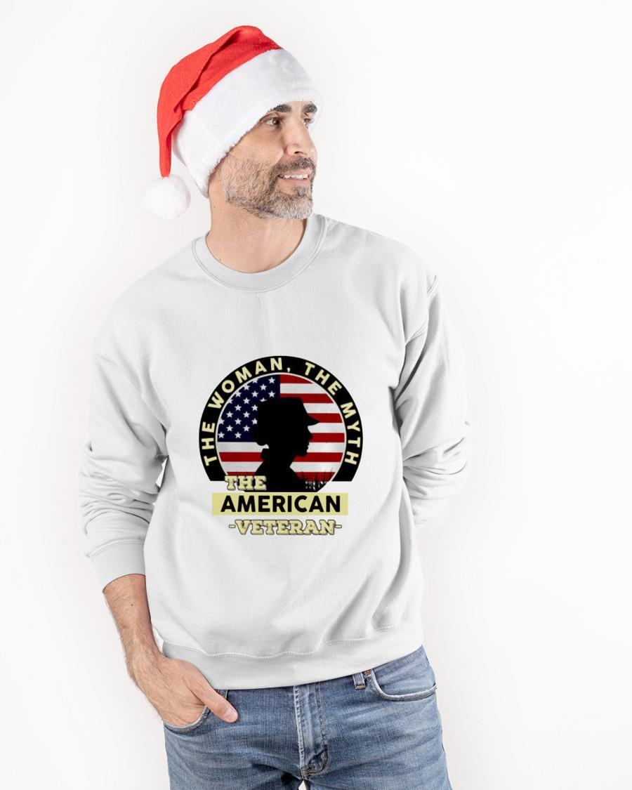 The Woman The Myth The American Veteran Sweater