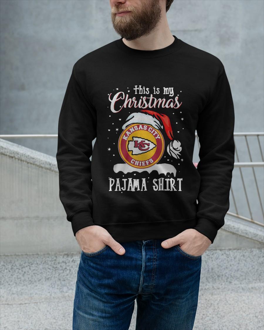 This Is My Christmas Kansas City Chiefs Pajama Sweater