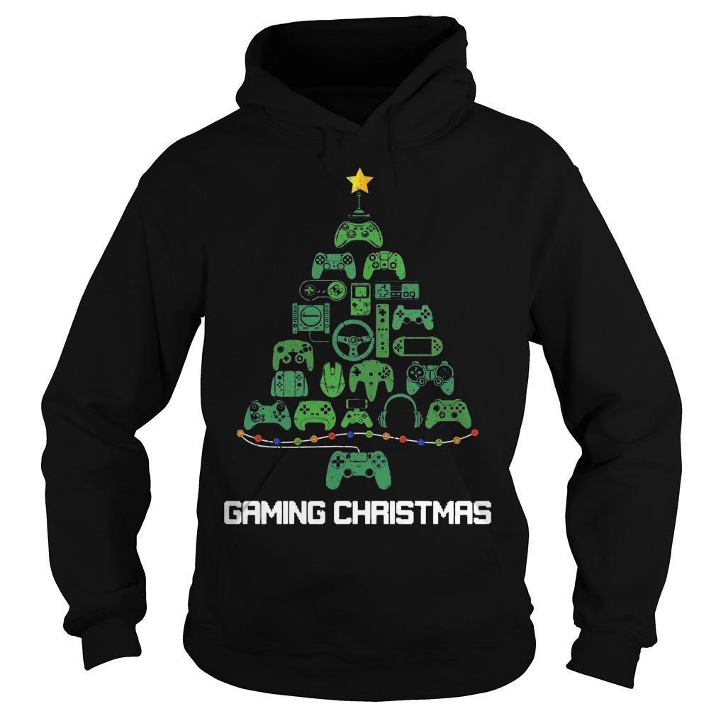 Tree Gaming Christmas Hoodie