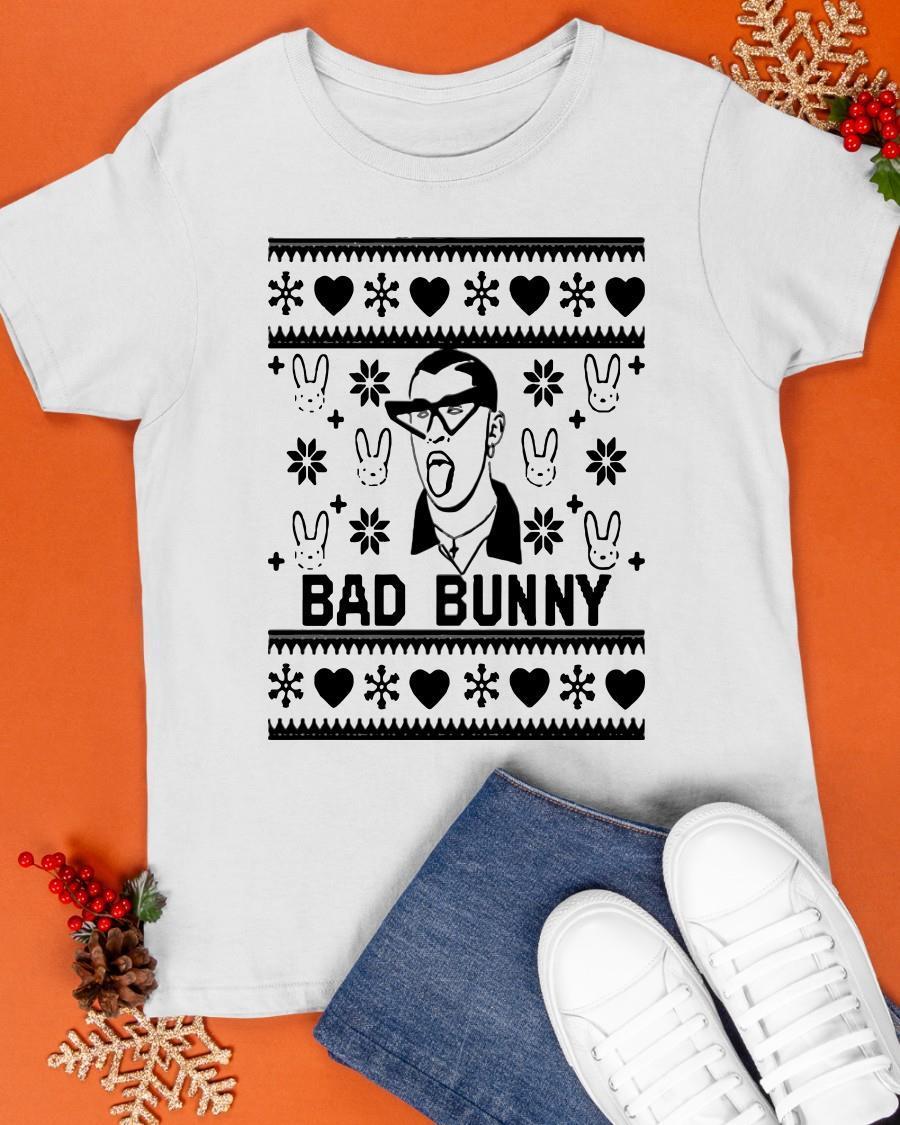 Xmas Bad Bunny Shirt