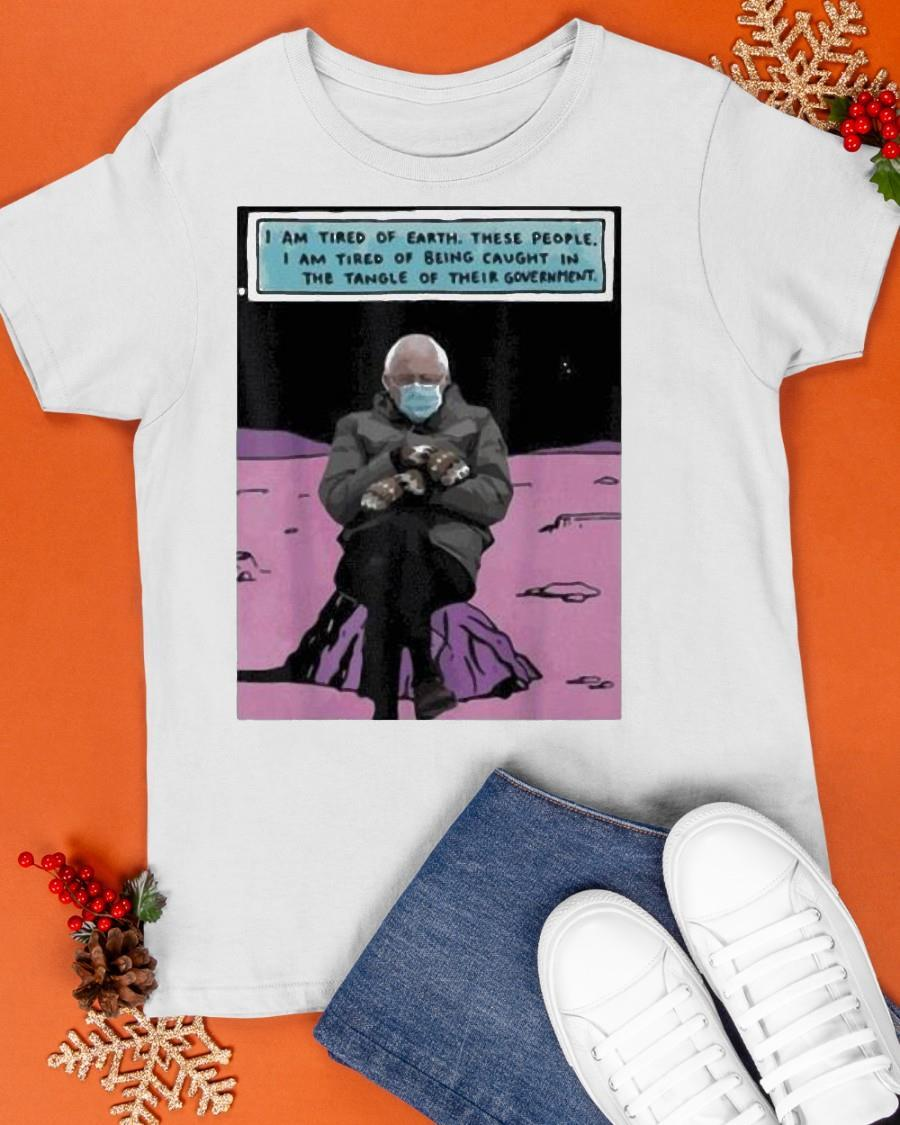 Bernie Sanders Out Of The Galaxy Shirt
