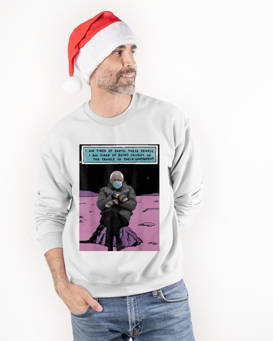 Bernie Sanders Out Of The Galaxy Sweater