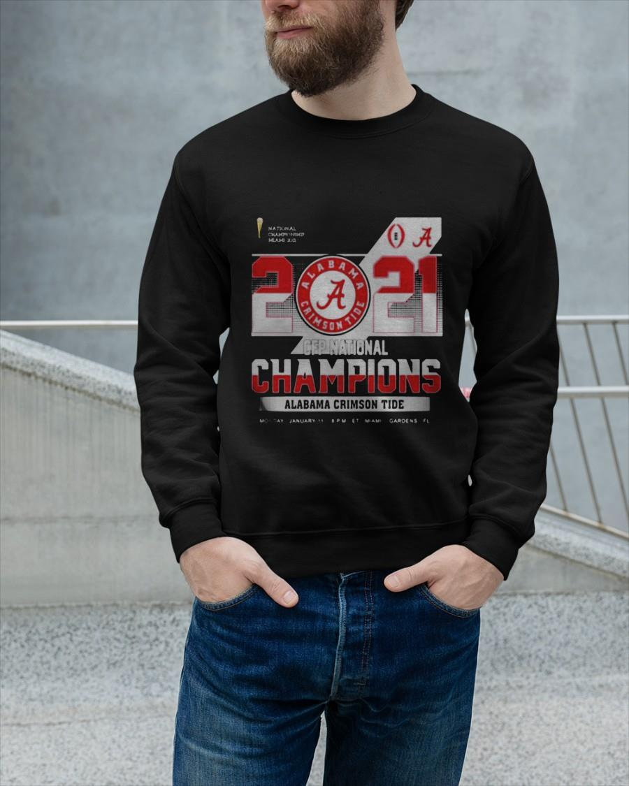 Championship Miami 2021 Cfp Alabama Crimson Tide Sweater