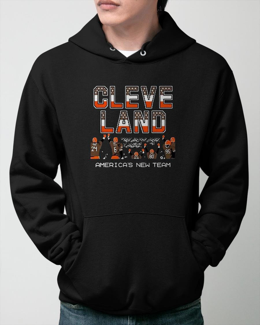Cleveland Browns America's New Team Hoodie