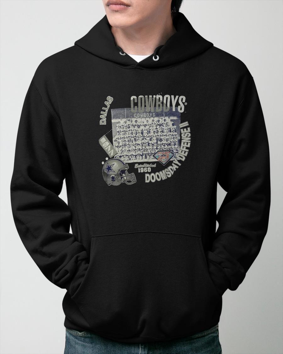 Dallas Cowboys Doomsday Defense II Established 1960 Hoodie