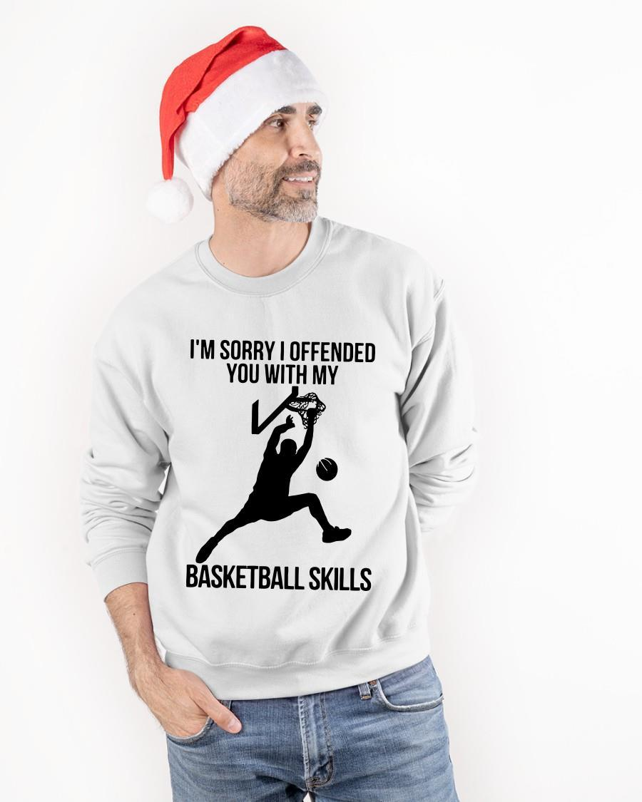 I'm Sorry I Offended You With My Basketball Skills Sweater