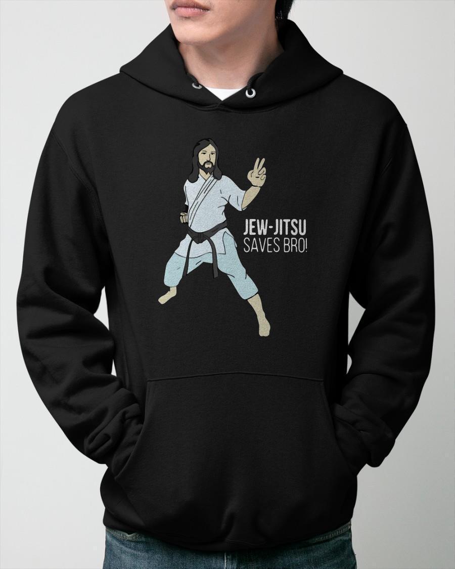 Jew Jitsu Saves Bro Hoodie