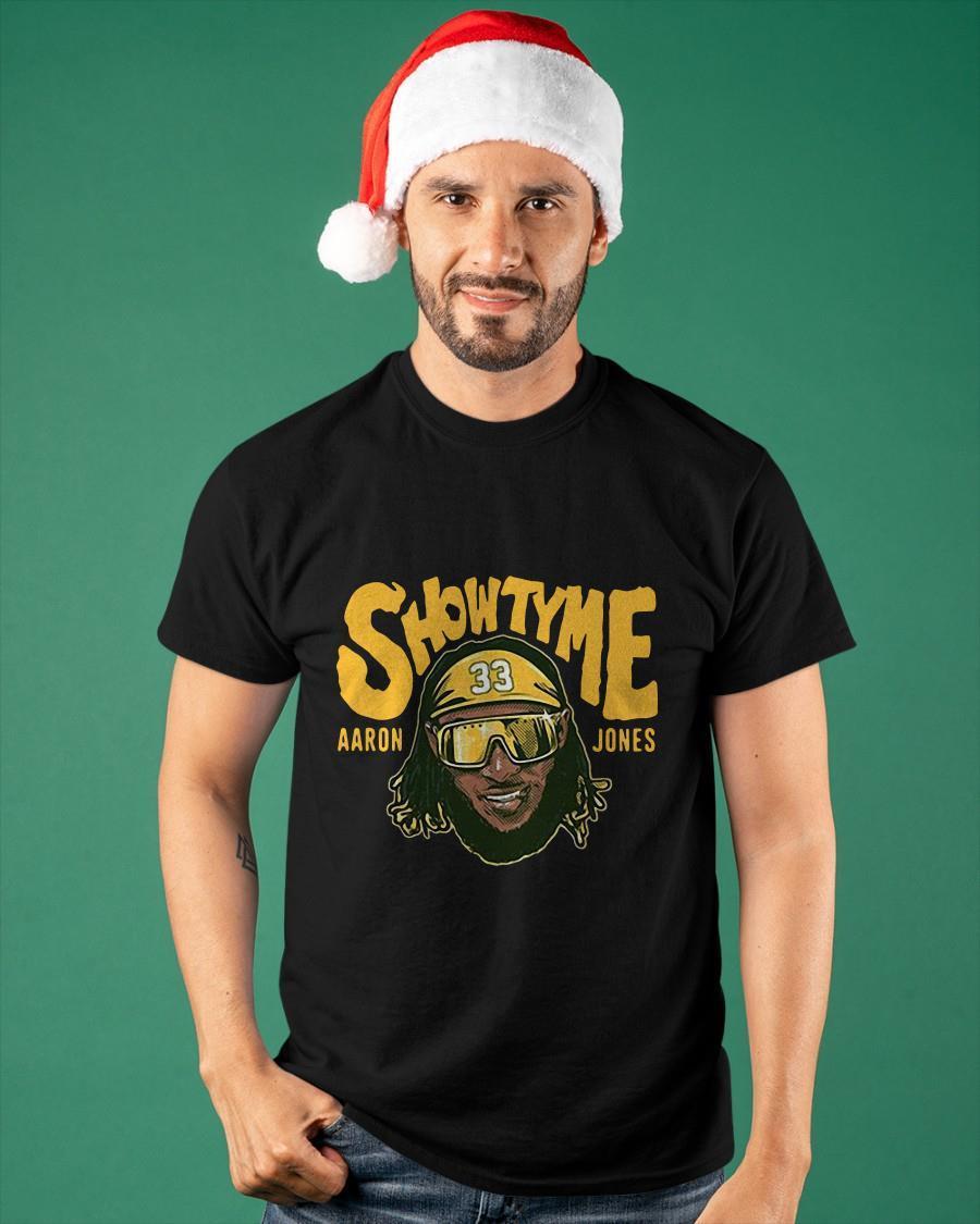 Showtyme Green Bay Aaron Jones Shirt