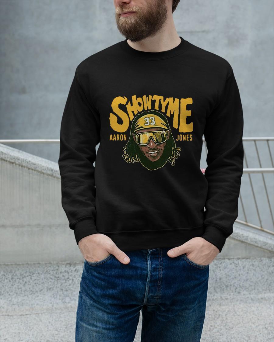 Showtyme Green Bay Aaron Jones Sweater