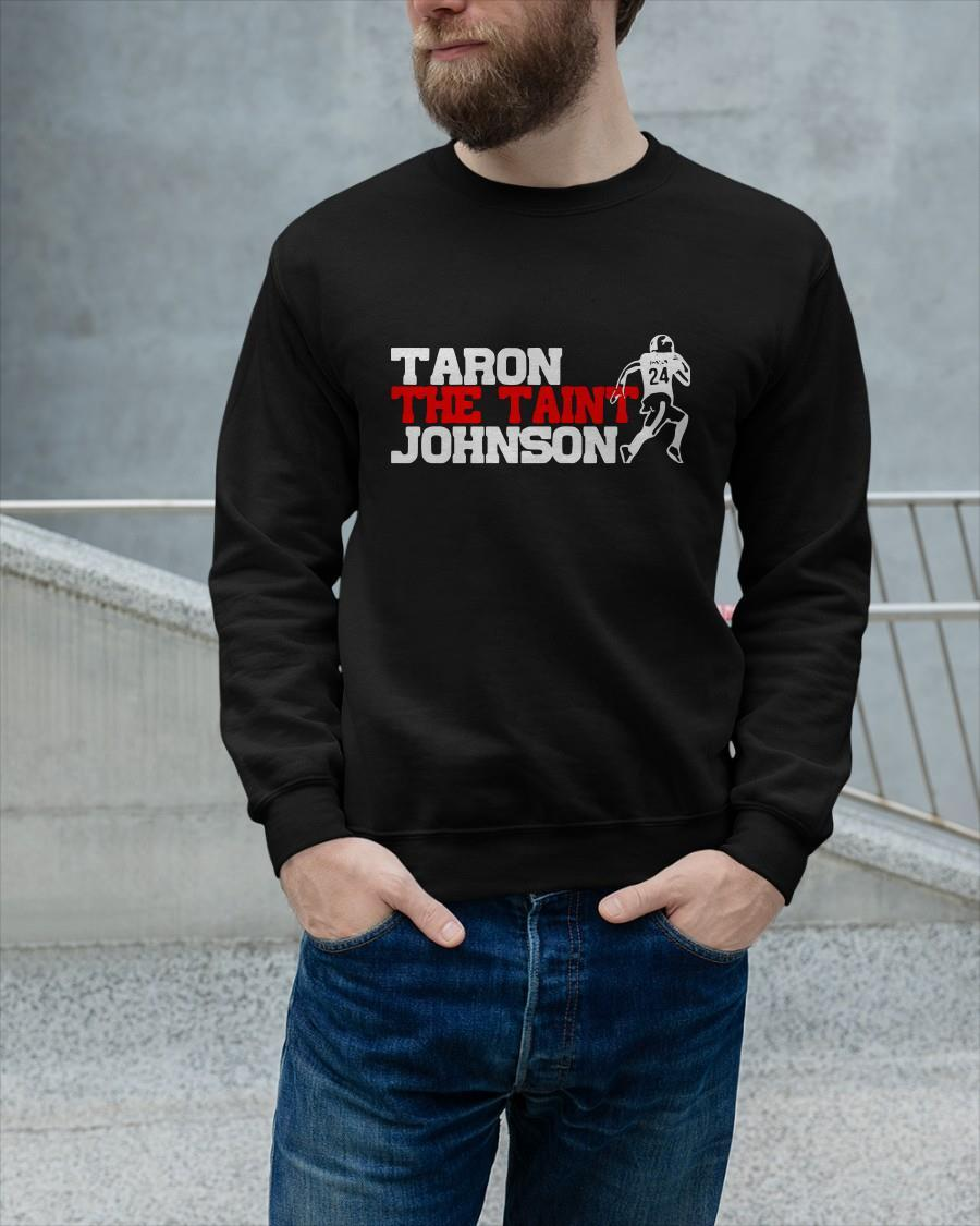 Taron Johnson Buffalo Bills Taron The Tain't Johnson Sweater