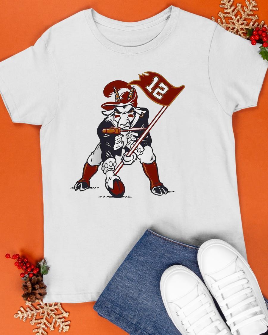 12 Buffalo Bills Buccaneers Mascot Shirt