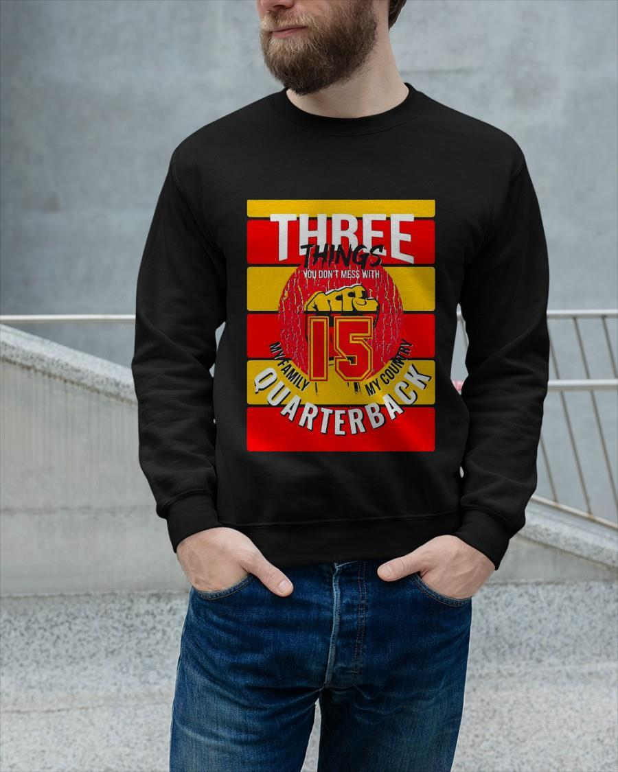 Kansas City Chiefs Three Things You Don't Mess With Sweater