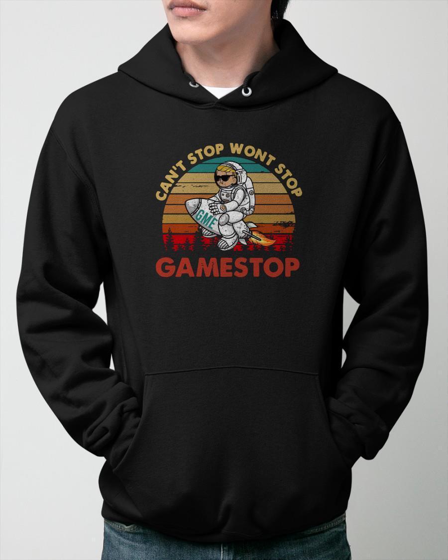 Vintage Trump Can't Stop Won't Stop Gamestop Hoodie
