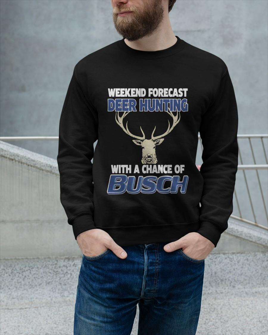 Weekend Forecast Deer Hunting With A Change Of Busch Sweater