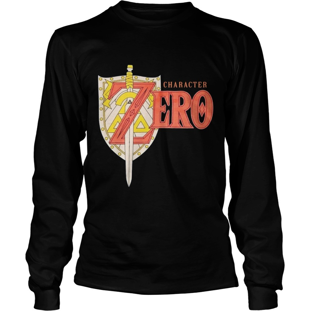 Chracter Zero Long Sleeve Tee