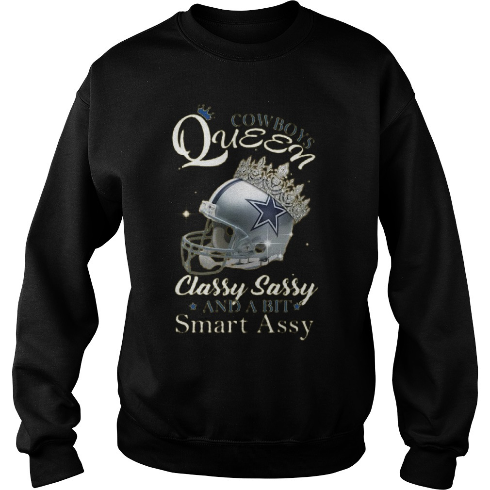 Cowboys Queen Classy Sassy And A Bit Smart Assy Sweater