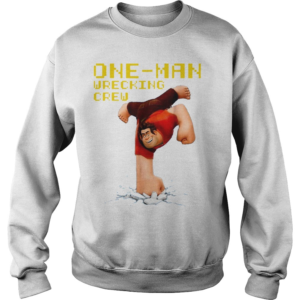 Disney Wreck It Ralph 2 Wrecking Crew Graphic Sweater
