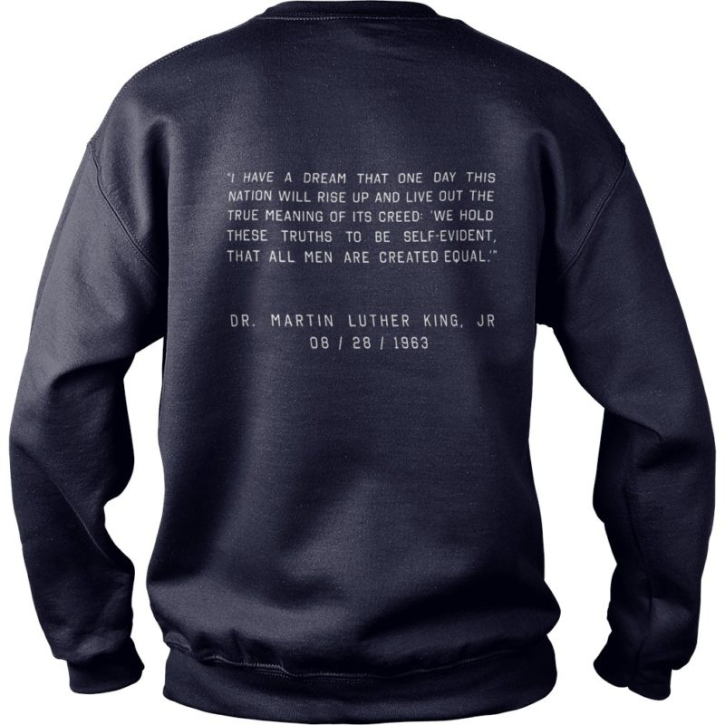 I Have A Dream Performance NBA MLK Back Unisex Sweater