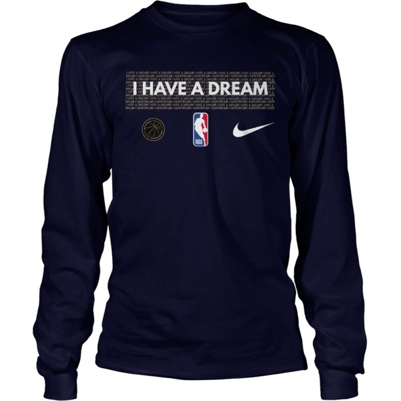 I Have A Dream Performance NBA MLK Long Sleeve Tee
