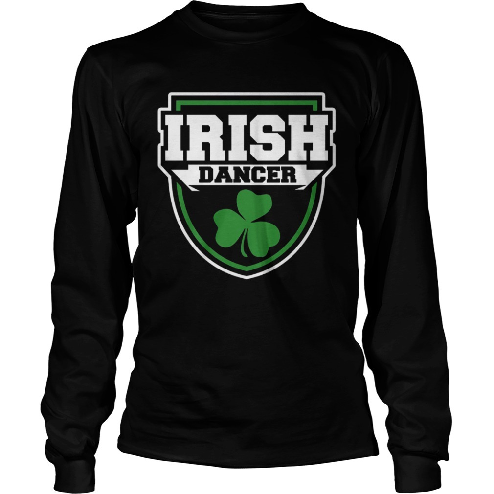 Irish Dance Badge Long Sleeve Tee