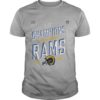 Los Angeles Rams NFC Champions 2018 Shirt