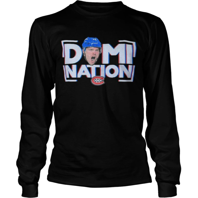 Montreal Canadiens Domi Nation Long Sleeve Tee