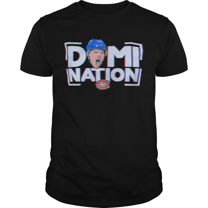 Montreal Canadiens Domi Nation Shirt