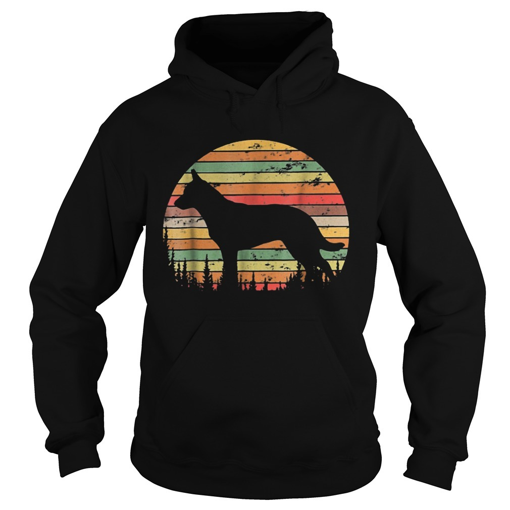 Sunset Australian Cattle Dog Hoodie