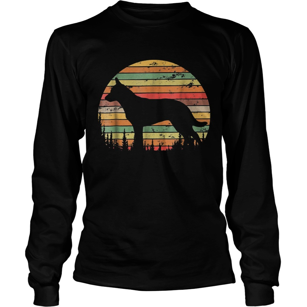 Sunset Australian Cattle Dog Long Sleeve Tee