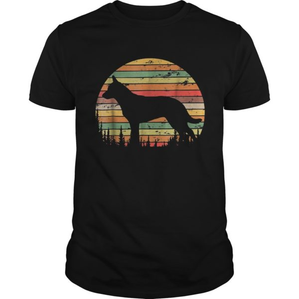 Sunset Australian Cattle Dog Shirt