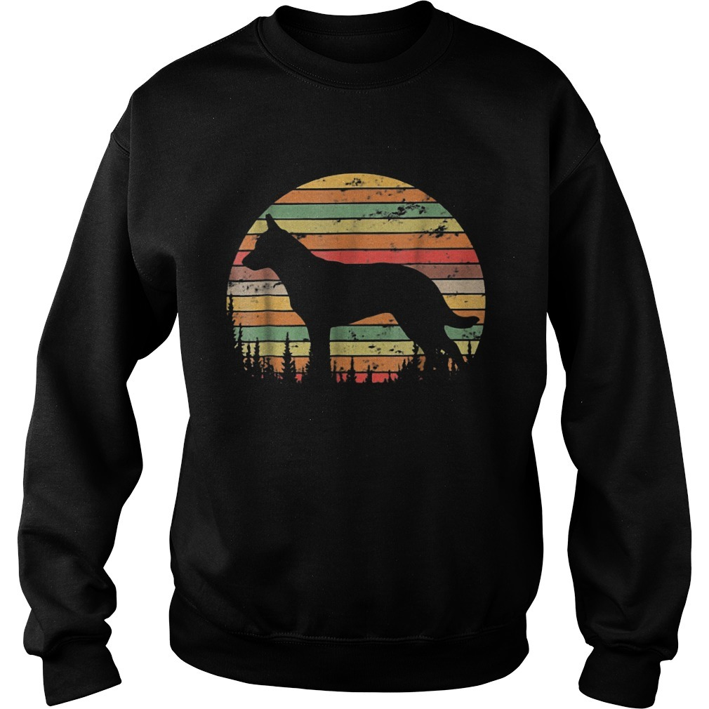 Sunset Australian Cattle Dog Sweater