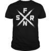 WWE SFNR Authentic Seth Rollins New Shirt