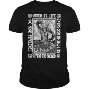 Water Is Life Kill The Black Snake Defend The Sacred Shirt