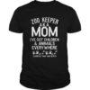 Zoo Keeper Aka Mom I've Got Children And Animals Kid Shirt