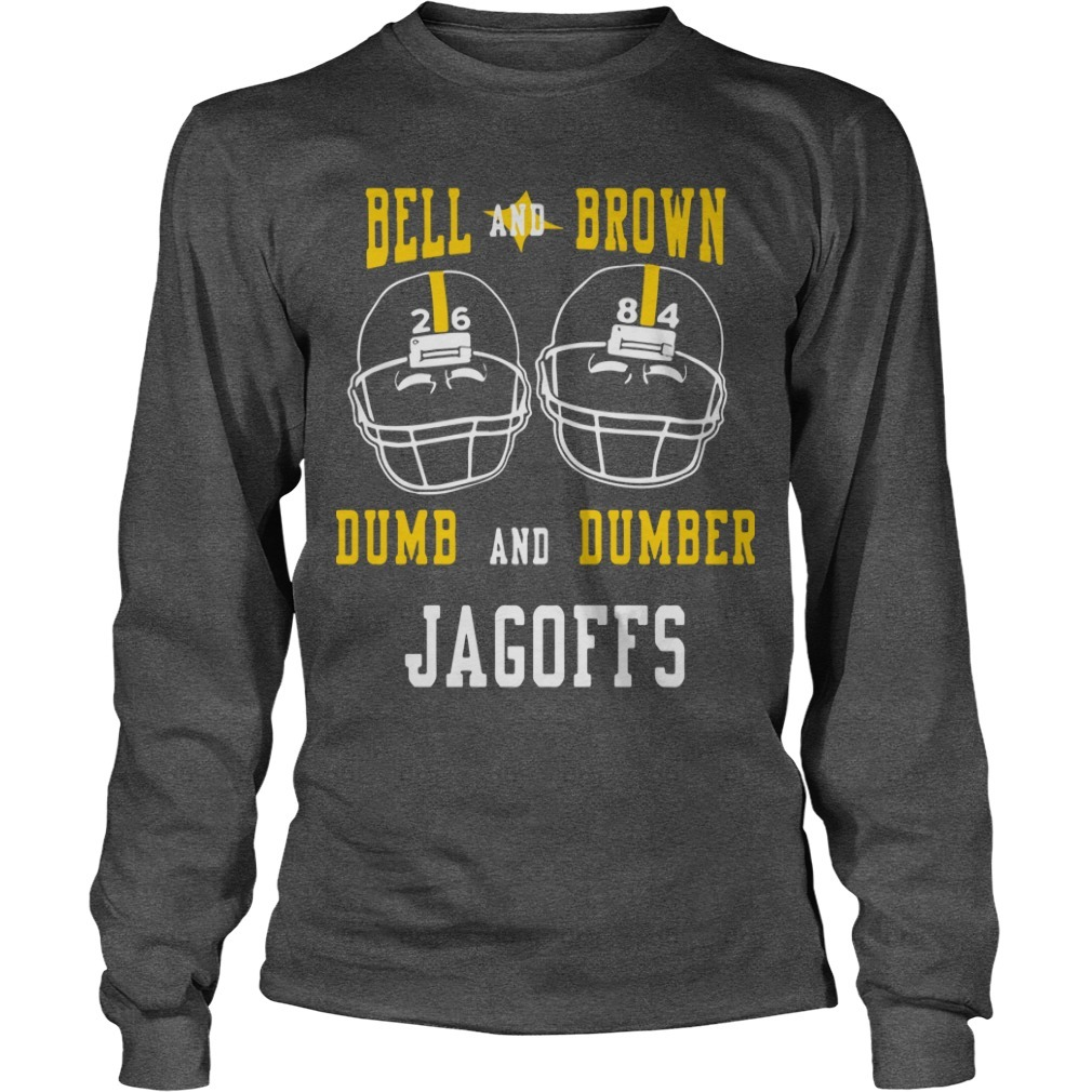 Bell And Brown Dumb And Dumber Jagoffs Long Sleeve Tee