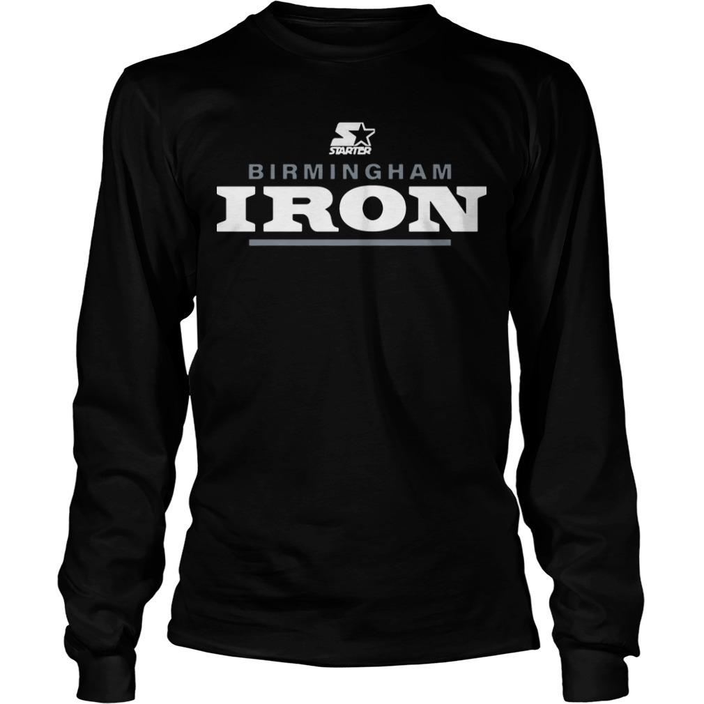 Birmingham Iron Long Sleeve Tee