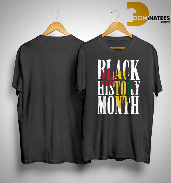 Black History Month Pride Shirt